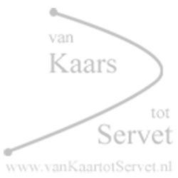 Bedrukte kaars 300-100 wit – Watertransfer