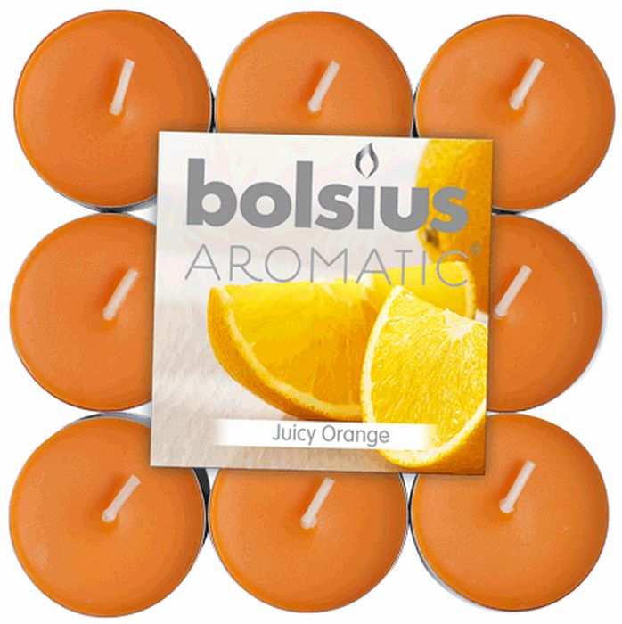 Bolsius Geurtheelicht 4 uur brick 18 Juicy Orange